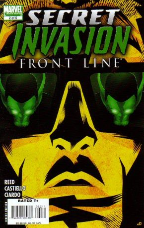 Secret Invasion Front Line #2 (2008) Marvel comic book